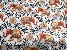 Elephant Print Scarf White Black Beige Boho Wrap Shawl Ladies Summer Sarong BNWT