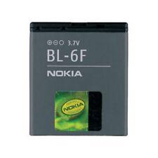 Nokia Batteria originale BL-6F PER N78 N79 N95 8GB 1200 mAh Pila Ricambio Nuova