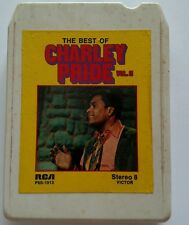 The Best of Charley Pride 8 Track VOL. 2