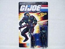 1989 GI Joe Cobra Night Viper 100% Complete On Un-Punched Card