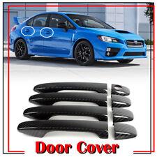 Stock in LA!For Subaru WRX 4th STI Sedan 2018 Real Carbon Side Door Handle Cover