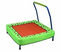 HLC Kids Baby Collapsible Trampoline with Handle Decorative Strawberry Pattern