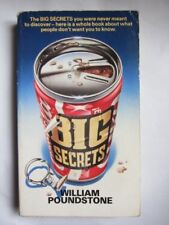 Big Secrets,William Poundstone, Caroline Taylor