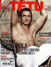 Tetu Magazine #166 5/2011 gay swimsuit men DAVID GINOLA