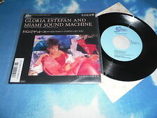"GLORIA ESTEFAN And Miami Sound Machine ‎– Rhythm Is Gonna Get JAPAN 7"" Single"