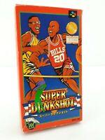 Super Dunkshot - Jeu Nintendo Super Famicom JAP Japan complet