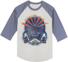 Journey-Alien Head-XXL Raglan Baseball Jersey T-shirt