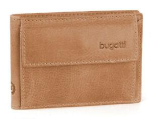 Bugatti Wallet Volvo, Leather, Men's, Ladies, Travel, Purse, Cognac