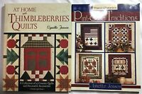 Lot of 2 Thimbleberries Quilt Books Lynette Jensen Pint-Size Traditions At Home