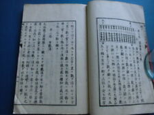 JAPANESE WOODBLOCK PRINT BOOK JAPANESE MATHEMATICS ABACUS SOROBAN MEIJI