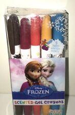 Disney Frozen Smencils 5-Pack of HB Scented Gel Crayons Anna Elsa Olaf Kristoff