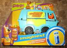 Imaginext SCOOBY DOO VAN TRANSFORMING MYSTERY MACHINE PLAYSET FRED SCOOBY