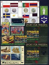 UN . VIENNA . 2008 Year Set . 15 Stamps + 5 Sheets . Mint Never Hinged