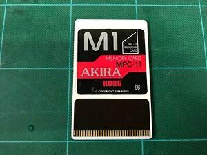 KORG M1 PROGRAM CARD AKIRA MPC-11 FREE SHIPPING!!