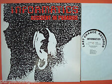"""INFORMATICS - Accidents In Paradise  12"""" FIRST PRESSING  Last Chance LCR 002"""