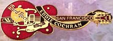 Hard Rock Cafe SAN FRANCISCO Dead Rocker EDDIE COCHRAN GUITAR PIN #1 - HRC #8373