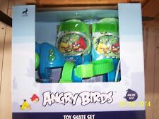 Bnib Rovio Angry Birds Toy Skate Set *Fits Child's Shoe Size 6-12*