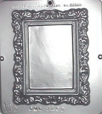 """Picture Frame 6"""" x 7"""" Chocolate Candy Mold 1260 NEW"""