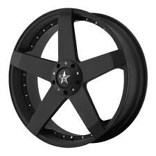 KMC KM775 ROCKSTAR CAR KM77577598742 17X7.5 42MM OFFSET 4X100 MATTE-BLACK RIM