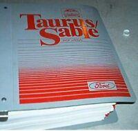 1987 FORD TAURUS /& Mercury Sable Workshop Service Shop Repair Manual Binder