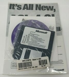 VINTAGE SEALED PRODUCT RECOVERY CD WINDOWS 98 SECOND EDITION for DELL ONLY