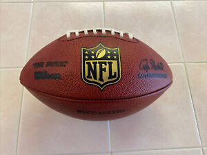 Official Wilson The Duke Football NFL Authentic Game Ball Tampa Bay Bucs