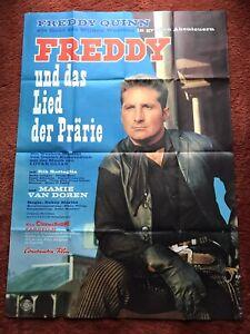 Freddy und das Lied der Prärie Kinoplakat Poster A0, 1964, Freddy Quinn, Western