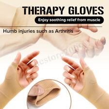 Therapy Gloves Hand Wrist Thumb Support Arthritis Compression Rheumatoid Brace