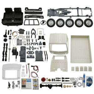 WPL D12KM 1:10 4WD RC Truck KIT Full DIY Assembly Kits Model Car Toy Sets Gift