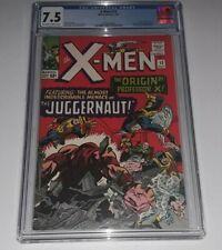 X-Men 12 CGC 7.5 OWW 1st Juggernaut