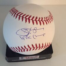 Jim Leyland Signed Baseball Inscription WBC CHAMPS Detroit Tigers USA!