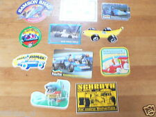 STICKER,DECALS SET 2 FORMULE ONE, F1 RACE LOT OF ABOUT 11 STICKERS SEE PICTURES