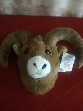 Big horn Goat Head Stuffed Animal Wall Mount Stuffed Animal House
