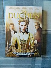 The Duchess (DVD, 2008, Sensormatic, Keira Knightley, Hayley Atwell)