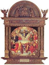 Albrecht Drer Adoration of the Trinity Fine Art Mural inch Poster 36x54 inch