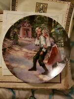 New In Box 1982 Konigszelt Bayern Hansel and Gretel Numbered Collector Plate
