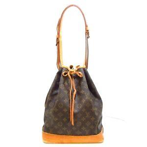 Auth LOUIS VUITTON Noe M42224 Monogram AR9002 Womens Shoulder Bag
