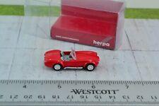 Herpa 021975 AC Cobra Red 1:87 Scale HO