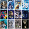 40*50cm Wolf Fox Animal DIY Paint By Number Kit Oil Painting Artwork Wall Decor