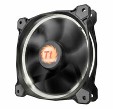 Thermaltake Riing 14 White LED 140mm PC Cooling Case Fan Silent 14CM