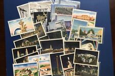 1939 NEW YORK WORLD'S FAIR EXPOSITION. POSTCARD LOT 27. COLLECTOR ITEMS. NICE