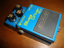 Boss BD-2 Blues Driver Overdrive Guitar Effects Pedal Excellent tested works gre