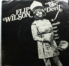 Soul Picture Sleeve Novelty 33 Ep 45 Flip Wilson - The Devil Made Me Buy This Dr