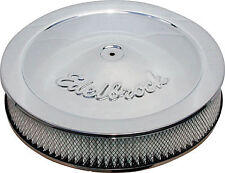 C2 C3 Corvette 63-82 Aluminum Oval Ball Milled Top 12in Air Cleaner-Polished