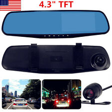 Auto Car Dash Camera Dual Cam Security Front Rear DVR Lens Video Recorder 1080P