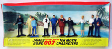 GILBERT 1965 10 JAMES BOND 007  CHARACTERS GOLDFINGER  THUNDERBALL MOVIE FIGURES