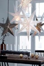 Large LED Decorative Festive Paper Star Hanging Christmas Lantern Xmas Lights
