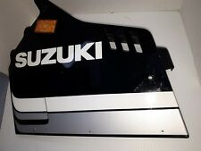 1985 GSXR 750 LEFT SIDE FAIRING PANEL, 94441-27A0 L.