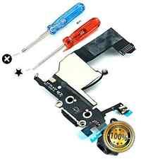 Original Iphone 5 Dock Connector USB Charging Port Flexcable Black Microphone Au