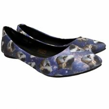 TUK Kitty Cat Galaxy Size 8 Shoes Ballet Flats Slip On Womens